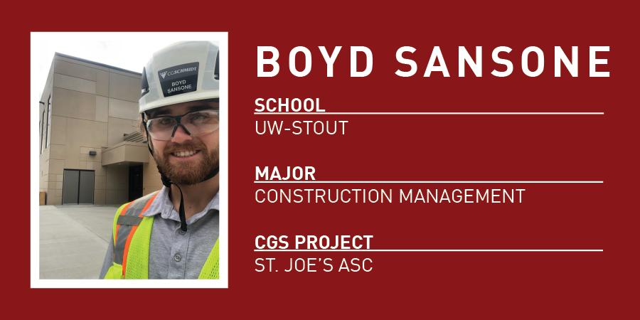 Boyd Sansone Bio