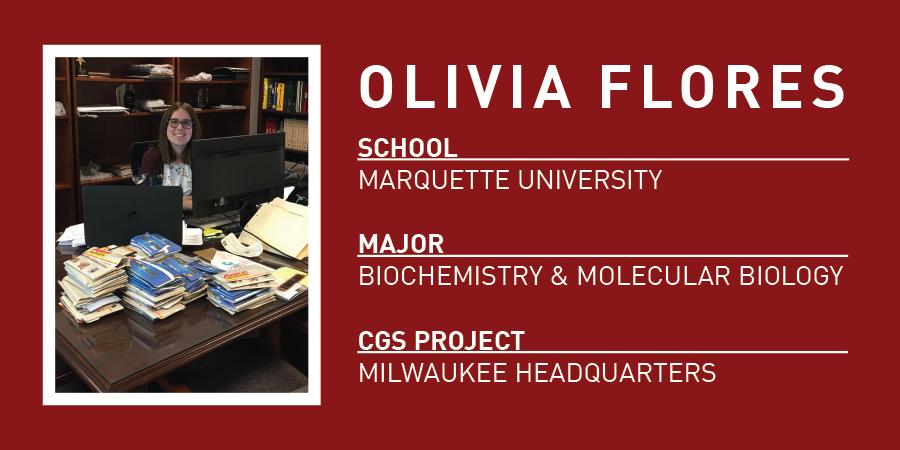 Olivia Flores Bio