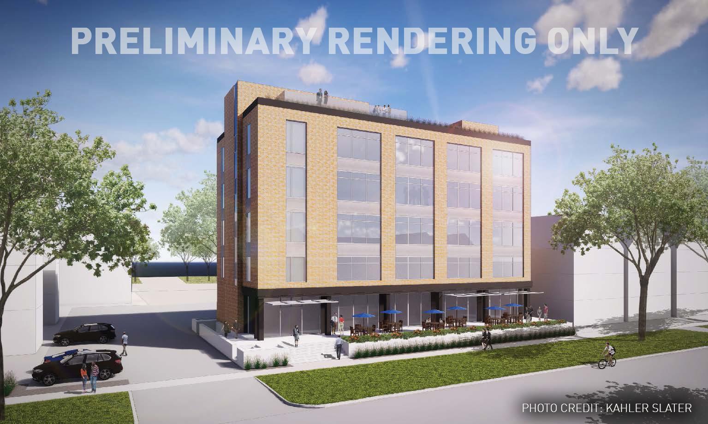 Rendering of CG Schmidt Madison office