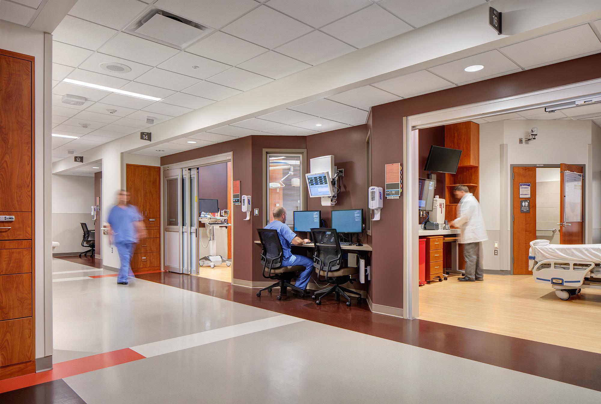 Froedtert Hospital; Milwaukee, WI; Kahler Slater; Darris Lee Harris Job#1425